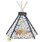DalosDream Pet Teepee Bed Indian Tents F...