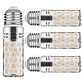 E27 LED Warmweiß 15W Mais Glühbirnen E27 Nicht dimmbar 6000K 1500Lm Kleine Edison-Schraube Kerze Leuchtmittel Led Maiskolben Entspricht 120W Glühbirnen(4er-Pack)