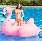 SKY TEARS Fenicottero Gonfiabile e Galleggiante per Mare e Piscina. Bambini e adulti piscina gonfiabile Fenicottero. Gonfiabile piscina giocattolo Fenicottero(Flamingo)