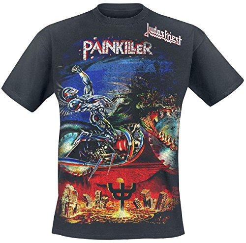 Judas Priest Painkiller Jumbo Camiseta Negro S