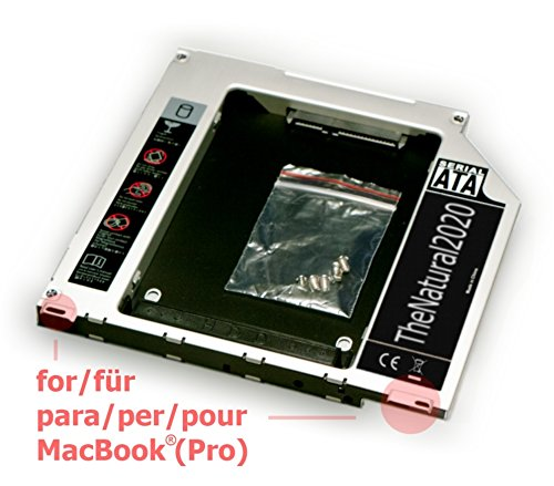 HDD/SSD SATA III Caddy für Apple MacBook (Pro) 13