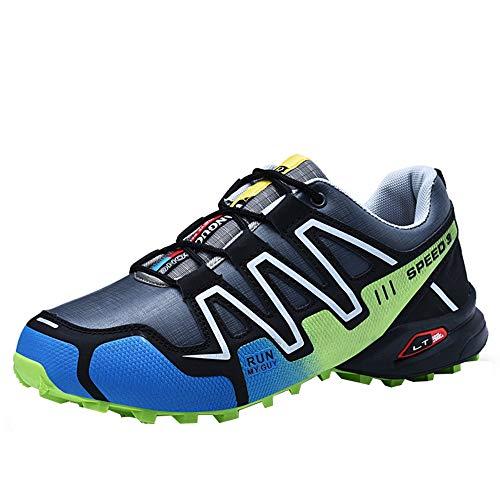 Laufschuhe Herren Sannysis Männer Sportschuhe Damen Trainer Air Turnschuhe Atmungsaktiv Bergschuhe Leichtes Sneaker