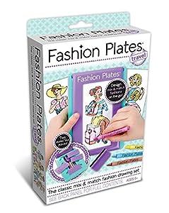 Kahootz Placas para diseño de Modas, Kit de Viaje
