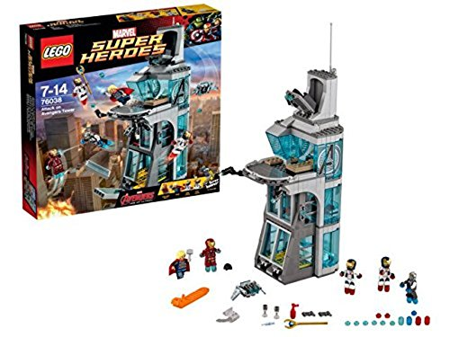 LEGO Superheroes 76038 Age of Ultron: Attack on Avengers Tower