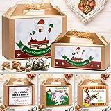 Personalised Christmas Eve Box   Gold Ribbon   8 Fantastic Designs