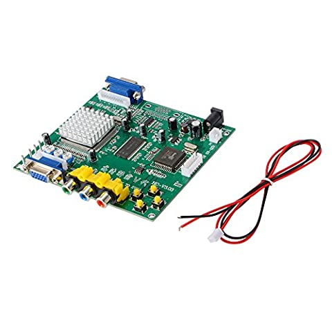XCSOURCE GBS8200 RGB/CGA/EGA/YUV TO 2 VGA Output D Arcade Video Converter Board Moudle for CRT/ LCD/ PDP Monitor