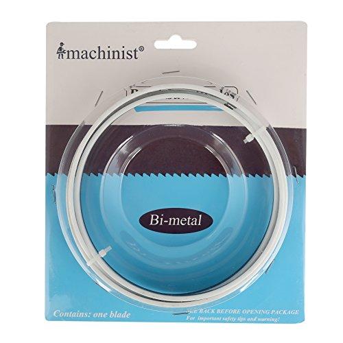 """Imachinist S561814 Bandsägeblatt Bi-Metall M 42 1425mm (56-1/8\"""") x 13mm (1/2\"""") x 14TPI"""