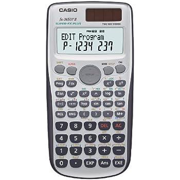 Casio FX-3650P II programmierbarer Rechner mit 279