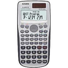 CASIO FX-3650PII-W-EH - Calculadora programable, 12 x 78 x 157 mm, gris