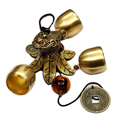 Brass Bells Wind Wind Chime intérieur et extérieur Belle décoration sonore