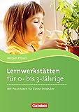 Lernwerkstätten für 0-3-Jährige: Mit Praxisideen für kleine Entdecker. Buch