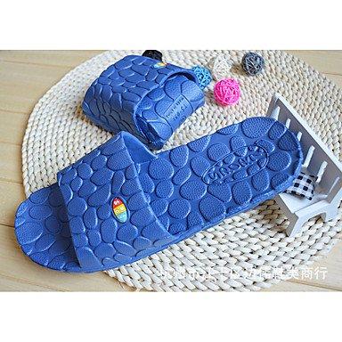 zhENfu Unisex pantofole & amp; flip-flops Primavera / Estate / Autunno / Inverno Comfort materiali personalizzati Casual tacco piatto Dark Blue