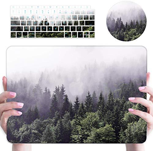 MacBook Pro 13 Zoll Hülle, nur kompatibel mit älteren Versionen [Modell: A1502 & A1425] [Version 2012 - Ende 2015], stoßfest, Kratzfest, Kunststoff, Hartschalen-Schutzhülle mit Tastatur-Abdeckung (Macbook Pro 2012 Tastatur-abdeckung)