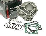 NARAKU 170ccm Zylinder Kit für Kymco Like 200i, People S 125, Super 8 125 (Big Tyre)