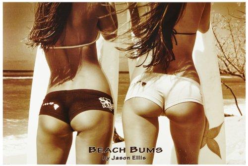 1art1 48107 Schöne Frauen - Beach Bums Von Jason Ellis Poster (91 x 61 cm)