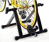 Fahrrad Rollentrainer, ohuhu Magnetständer aus Stahl für Fahrrad für Innenräume, Beinbewegungstrainings-Ständer