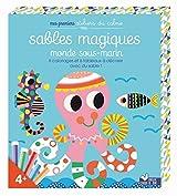 PREMIERS ADC - POCHETTES SABLES MAGIQUES - MONDES SOUS-MARINS