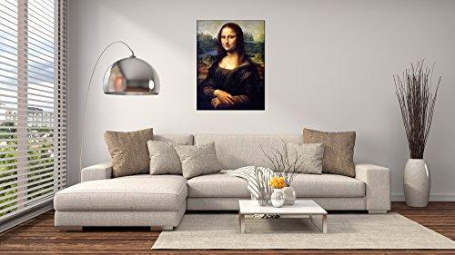 ArtPlaza Da Vinci Leonardo – Mona Lisa, Dekorative Paneele, Holz, Mehrfarbig, 60 x 1.8 x 80 cm