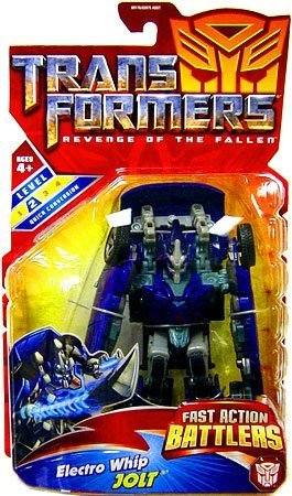 Transformers Movie 2 Fast Action Battlers - Electro Whip Jolt