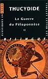 La Guerre du Péloponnèse, tome 2 : Livres III, IV, V par Thucydide