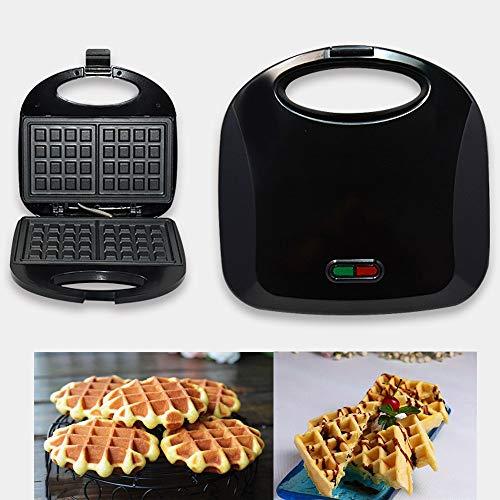 Syntrox Germany piastra per toast formato XXL con rivestimento in ceramica per la preparazione di 4 sandwich contemporaneamente