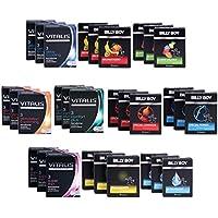 Billy Boy + Vitalis Premium Mix - 90 Kondome - 12 verschiedene Kondom Sorten - Abwechslung auf höchstem Niveau preisvergleich bei billige-tabletten.eu