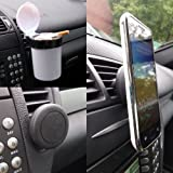 BerryKing Auto KFZ Frontscheiben-, Lüftungs- & Armaturenbretthalterungen für Navis & Smartphones - verschiedene Modelle zur Auswahl (Magnet Halterung)