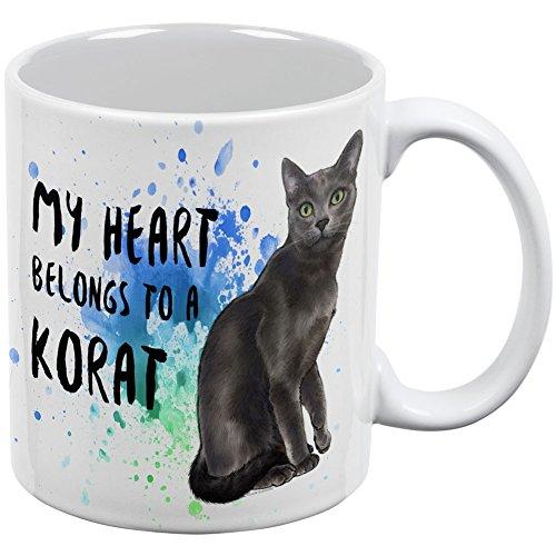 at Katze weiß alle über Kaffee Tasse ()