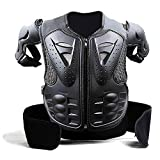 Ediors Ediors Kids Protective Gear Chest Spine Back Protector Body Armor Vest Guards