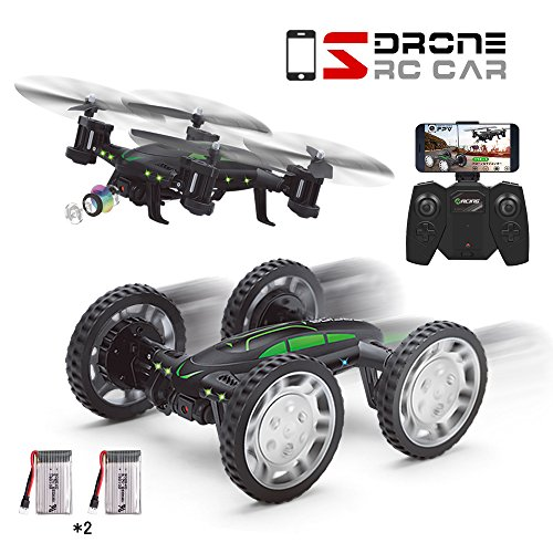 Drone Con Cámara 2MP FPV Air-Ground RC Quadcopter