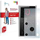 3x Vikuiti MySafeDisplay Film(s) de protection d'écran DQCT130 de 3M pour FiiO X1 II