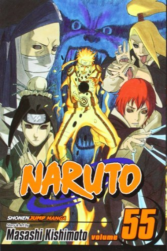 Naruto, Vol. 55: The Great War Begins (Naruto Graphic Novel ...