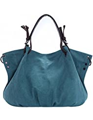 BYD - Mujeres School Bag Bolsos totes Bolsa de viaje Canvas Bag Carteras de mano Bolsos bandolera Shopping Bag with Multi Pockets