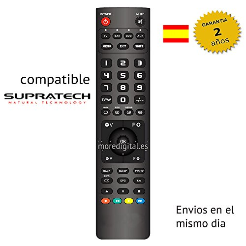 Mando distancia Especifico Television Tv Dvd SUPRATECH