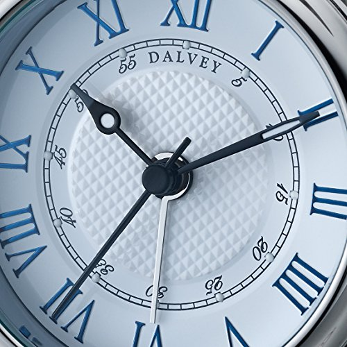 Dalvey White Voyager Travel Clock