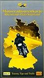 Motorradtourenkarte, Rheinland-Pfalz, Saarland - Klaus Hinterschuster, Hans Hohmann, Ingo Steufmehl