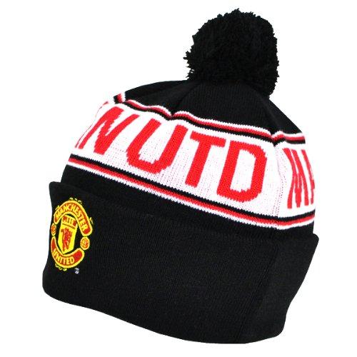 officiel-manchester-united-fc-en-noir-et-rouge-chapeau-de-secousse