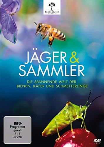 Jäger & Sammler - Die spannende Welt der Bienen, Käfer und Schmetterlinge -