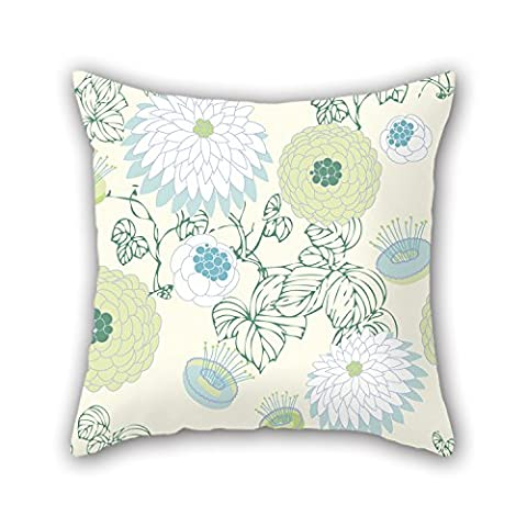 PILLO Flower Throw Pillow Case ,best For Lounge,car Seat,husband,relatives,her,wedding 18 X 18 Inches / 45 By 45 Cm(both