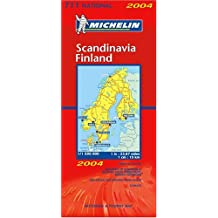 Carte routière : Scandinavie, Finlande, N°11711