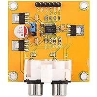 Zerone Tarjeta de expansión de la Tarjeta de Audio DAC del módulo DAC del módulo DAC de 32 bits de I2s de Alta Velocidad para Dispositivos de Audio