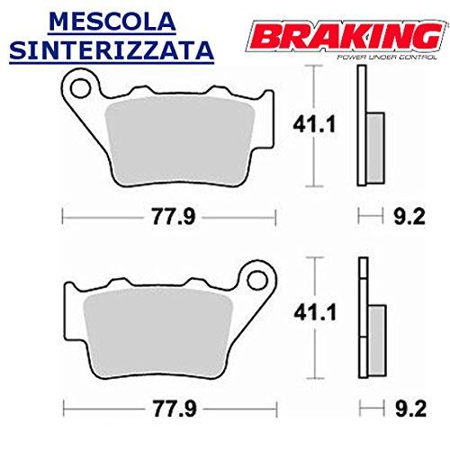 COPPIA PASTIGLIE POSTERIORE BRAKING PER KTM SMC R6902012 12
