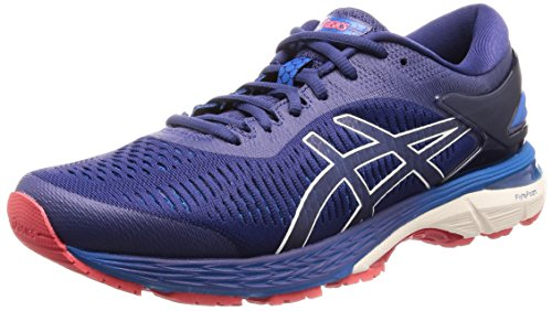 ASICS Gel-Kayano 25, Chaussures de Running Homme, Multicolore (Indigo Blue/Cream 400), 42 EU
