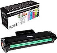 ICOMJET Compatible Toner Cartridge Replacement for samsung 104S D104 MLT-D104S Work for Samsung ML-1660K 1661K