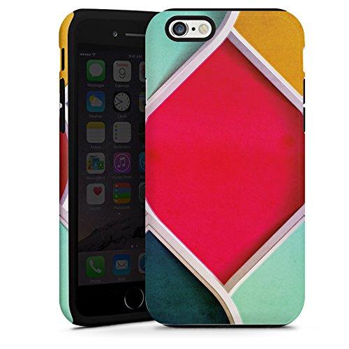 Apple iPhone 5 Housse étui coque protection Couleurs Motif Motif Cas Tough terne