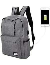 ACMEDE Laptop Rucksack Schulrucksack bis zu 15/17 Zoll Notebook Computer für Outdoor Reisen Wandern Geschäftreise