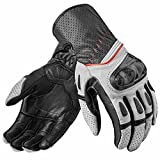 Revit Handschuhe Chevron 2, Farbe weiss-schwarz, Größe L