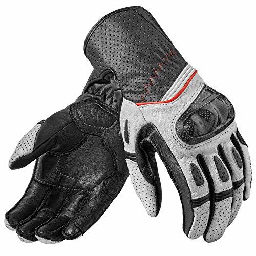 guanti-chevron-2-bianco-neri-taglia-l