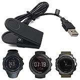 SUUNTO Ambit / KAILASH / TRAVERSE Chargeur, TUSITA Remplacement Câble USB Cordon de charge Câble de chargement Fil de prise pour SUUNTO AMBIT 1 2 3, KAILASH, TRAVERSE