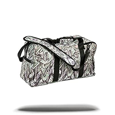 Sprayground - Origami Money Laptop Duffle Bag - mens-carry-all-organiser-bags